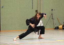 In den Meisterformen werden Kung Fu-Einflüsse deutlich